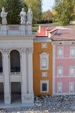 Miniatuurparkbasiliek van St John Lateran CzÄ™stochowa royalty-vrije stock fotografie