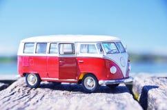 Miniatuurvw Bulli 1962 Stock Fotografie