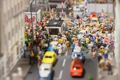 Miniatuurwereld Royalty-vrije Stock Foto's