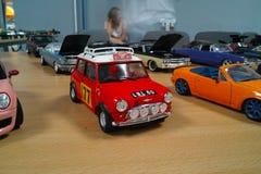 Miniatyr av den klassiska bilen Arkivbilder