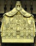 Miniatyr av den Milan domkyrkan Arkivbilder