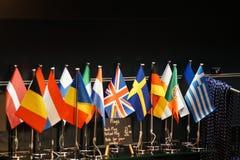 Miniatyrflaggor Royaltyfri Foto