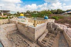 Miniatyrmuseum av Israel Arkivbilder
