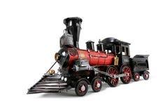 MiniatyrToy Steam Locomotive Train Engine Arkivfoton
