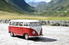MiniatyrVW Bulli 1962 Arkivbild