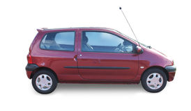 Miniauto twingo Lizenzfreies Stockbild