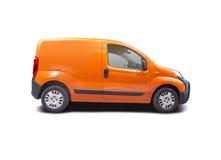 Minibestelwagen stock afbeelding