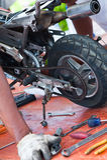 Minibike I Photo libre de droits
