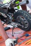 Minibike I Fotografia Stock Libera da Diritti