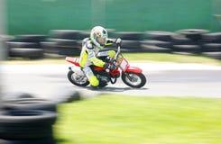 Minibike motion blur Royalty Free Stock Photos