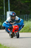 Minibike Racing Royalty Free Stock Photo