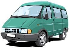 Minibus Immagine Stock