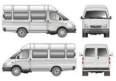 Minibus vektor abbildung