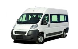 Minibus Fotografia Stock