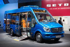 Minibus de Mercedes-Benz Sprinter City 65 Fotos de Stock Royalty Free