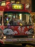Minibus em Hong Kong fotos de stock