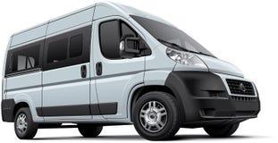 Minibus europeu ilustração do vetor