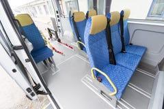 Minibus fizycznie obezwładniający fotografia royalty free
