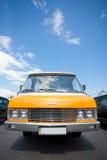 Minibus giallo ZIL-118K Immagini Stock Libere da Diritti