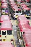 Minibus in Hong Kong Immagini Stock Libere da Diritti