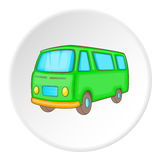 Minibus icon, isometric style Stock Photo