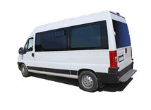 Minibus isolated Stock Photo
