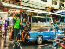 Minibus Royalty Free Stock Images