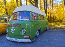 Minibus Volkswagen Transporter T1. Royalty Free Stock Photo
