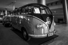 Minibus Volkswagen Transporter T1 Samba, 1955. Stock Photo