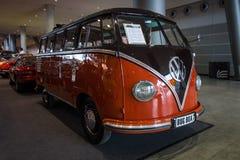 Minibusa wolkswagena transporteru T1 Samba, 1955 Fotografia Stock