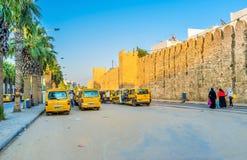 Minibusy Sousse Zdjęcie Stock