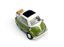 Minicar. Toy car for holidays and travel Stock Image
