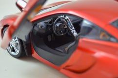 1:18 Minichamps di Mclaren Mp4-12C modelcar Fotografie Stock Libere da Diritti