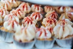 Minicupcakes Stock Afbeeldingen