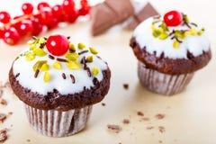 Minicupcakes Royalty Free Stock Photos