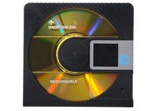 Minidisco Fotografie Stock Libere da Diritti