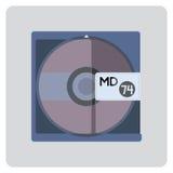 Minidisco Fotografie Stock