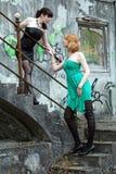 The minidress Stock Photos