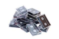 MiniDV卡式磁带 免版税库存照片