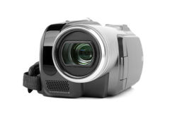 MiniDV camcorder. Royalty Free Stock Images