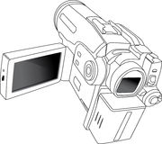 MiniDV camera Royalty Free Stock Images