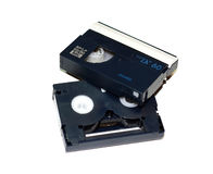 MiniDV cassette Stock Photography