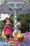 Minie mus och Donald Duck Arkivfoto