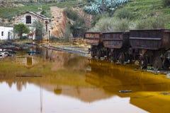 Miniera abbandonata Fotografie Stock Libere da Diritti