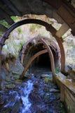 Miniera abbandonata Fotografie Stock