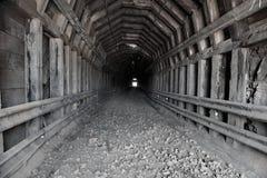 Miniera abbandonata Fotografia Stock