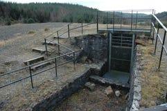 Miniera abbandonata dell'ardesia Fotografie Stock Libere da Diritti