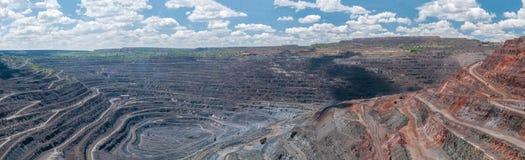 Miniera a cielo aperto Immagine Stock Libera da Diritti