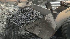 Miniera d'oro in Yakutia archivi video