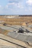 Miniera del carbone fossile di Opet Fotografia Stock Libera da Diritti